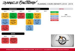 planning enfants